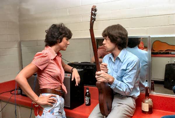 5 FOTO LINDA con Jagger