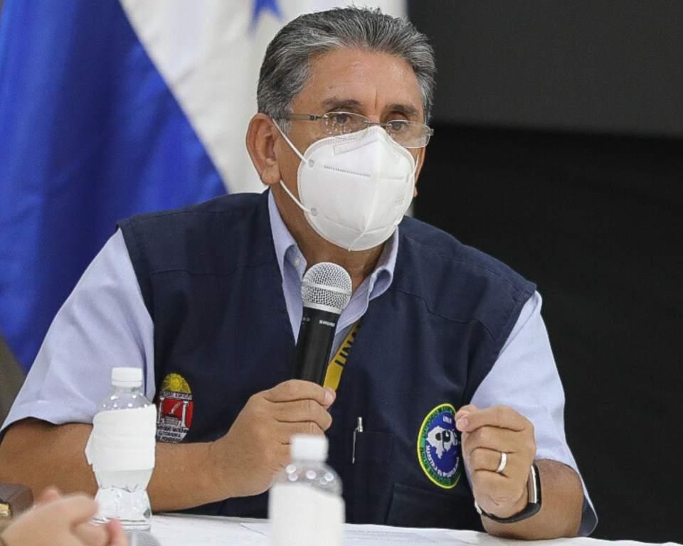 El jefe de epidemiología Mario Mejía