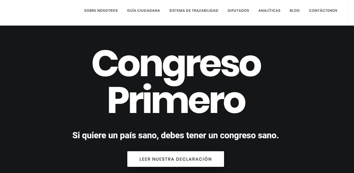 congreso primero