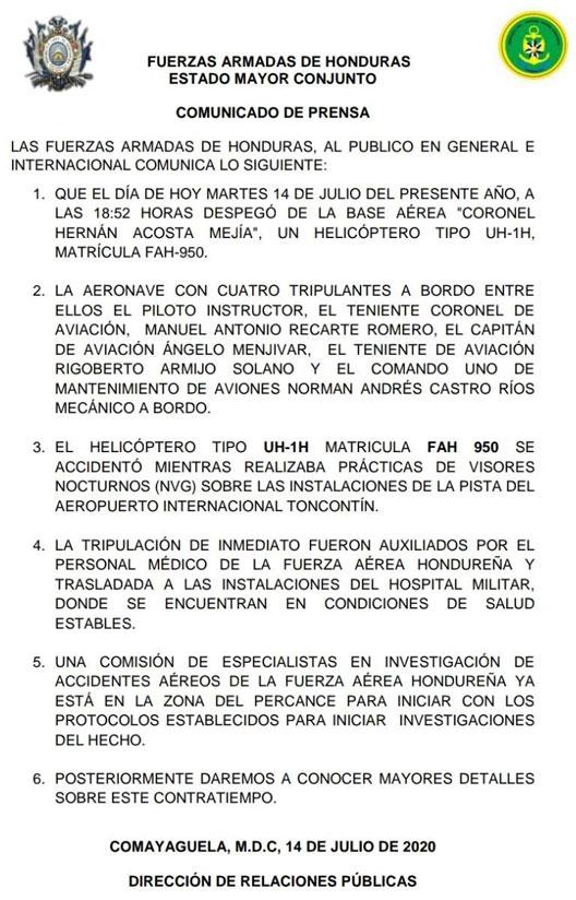 nota FFAA