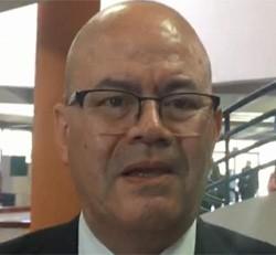 presidente del Colegio de Microbiólogos Marco Moncada