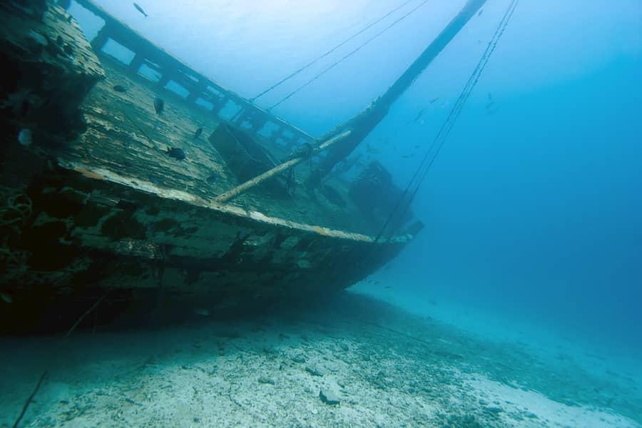 6 FOTO TESOROS navio hundido