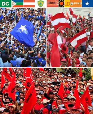 Honduras: Partidos de la oposición anuncian alianza para presentar una candidatura única en elecciones