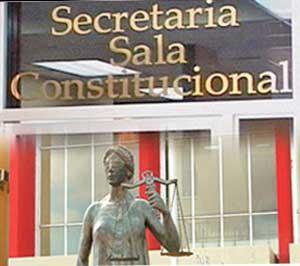 sala de lo constitucional