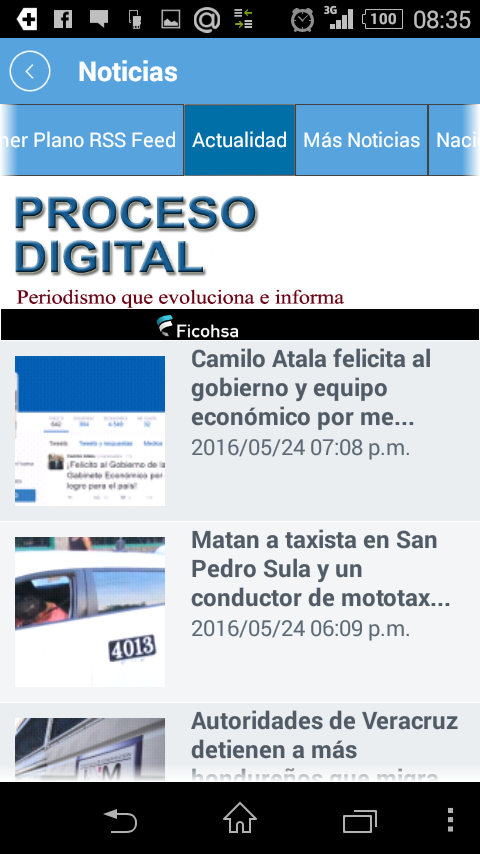 App proceso digital