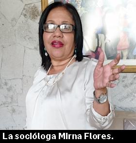Socióloga Mirna Flores 1