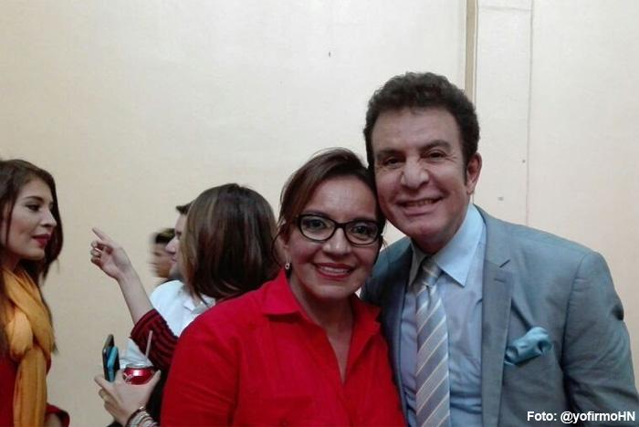 Xiomara y Salvador