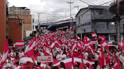 marcha liberales