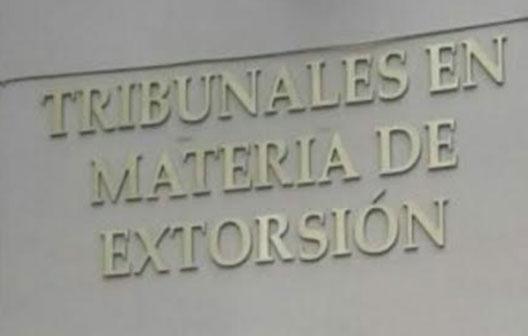 tribunales extorsion