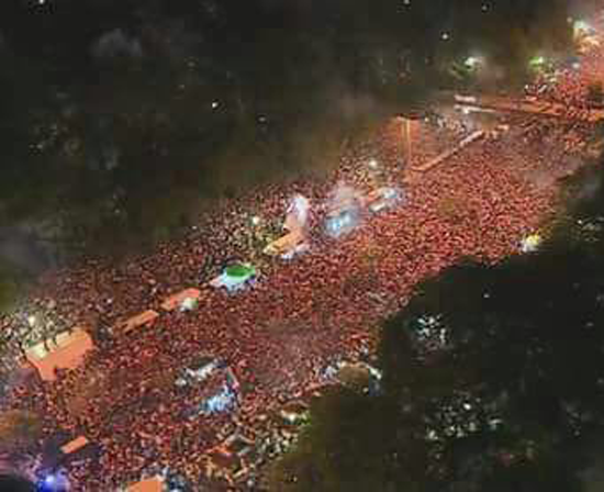 Alianza protestas panoramic