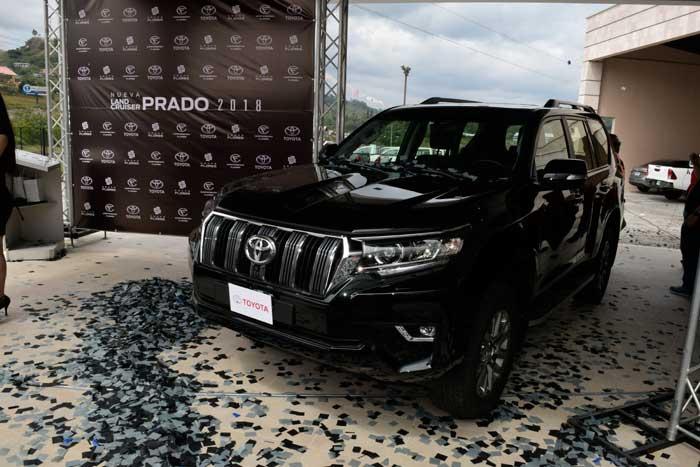 La nueva Toyota Land Cruiser Prado 2018