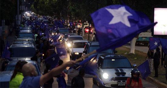 caravana nacionalista