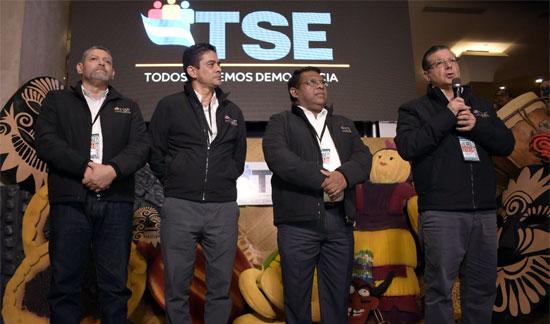 magistrados del TSE