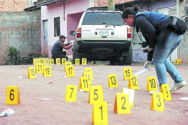 homicidios informe