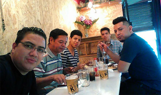 Familia de Juan carlos