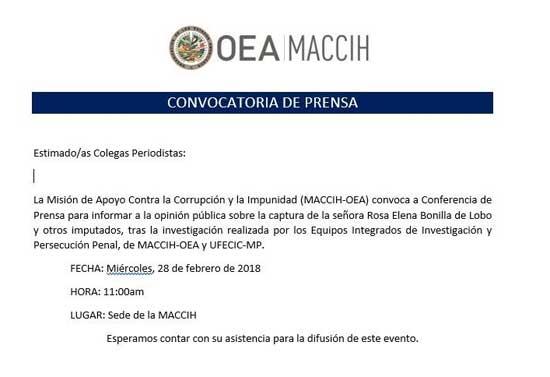 OEA MACCIH
