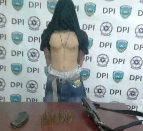 Menor fugado de Renaciendo es detenido con fusil AK-47 en la capital