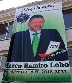 Afiche Marco Ramiro Lobo