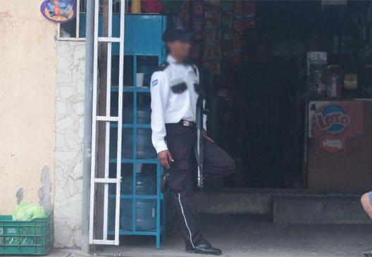 Guardia seguridad