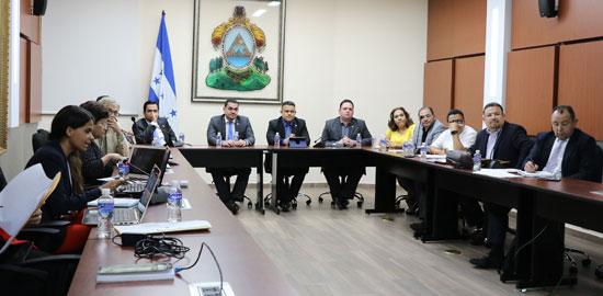 Reunión de Comisión Depuradora con Comisión del CN 2
