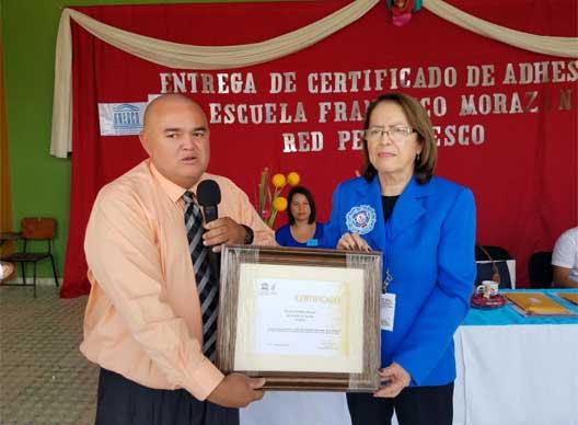 certificado Unesco