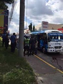 muerte en bus