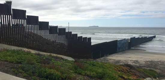 fin del muro
