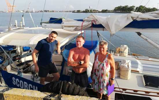 tripulantes velero