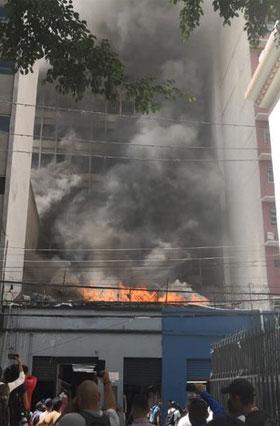 incendio centro TGa