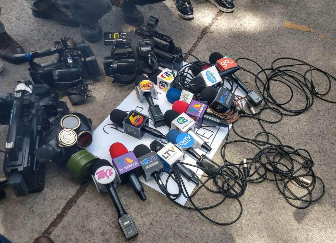 microfonos camaras