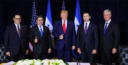JOh y Trump en la USA