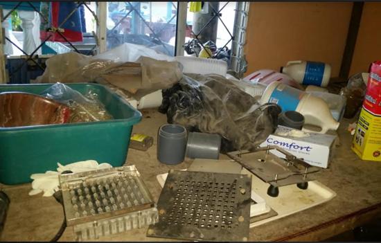 laboratorio clandestino