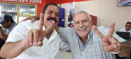 Carlos Zelaya y Ramon Najera
