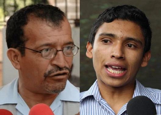 Hugo Maldonado y Fausto Cálix