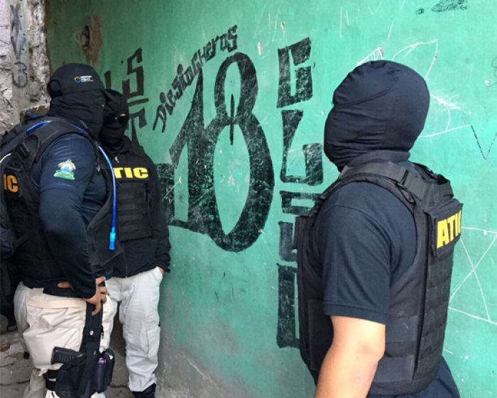 muro pandilla 18