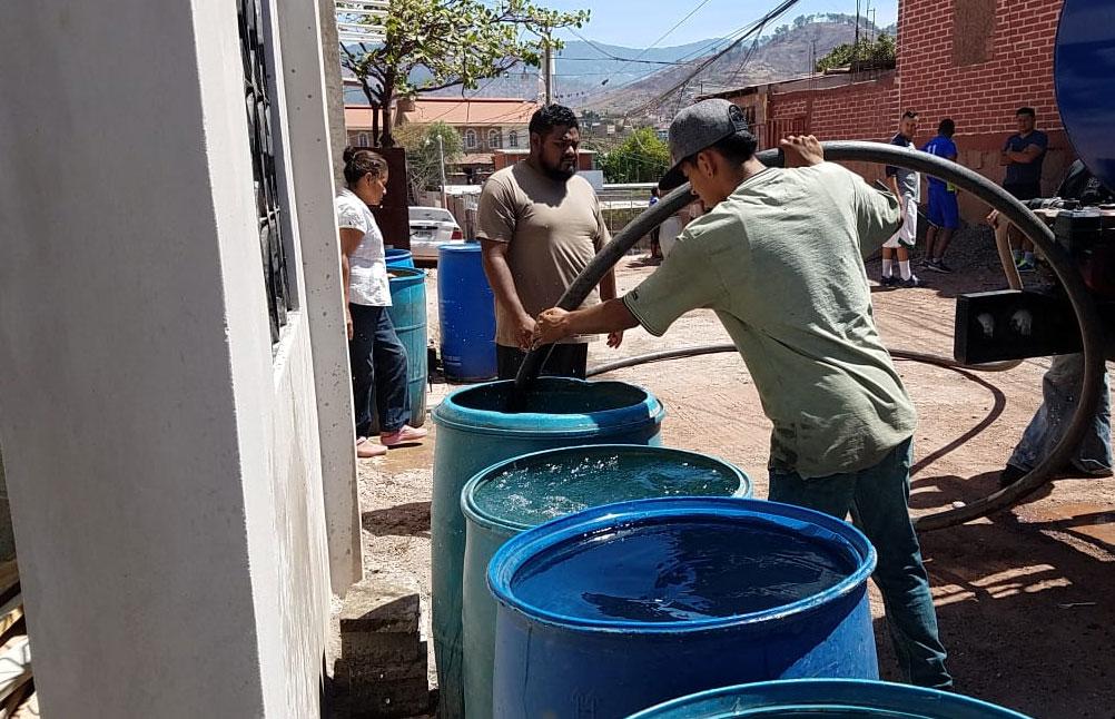 agua barril