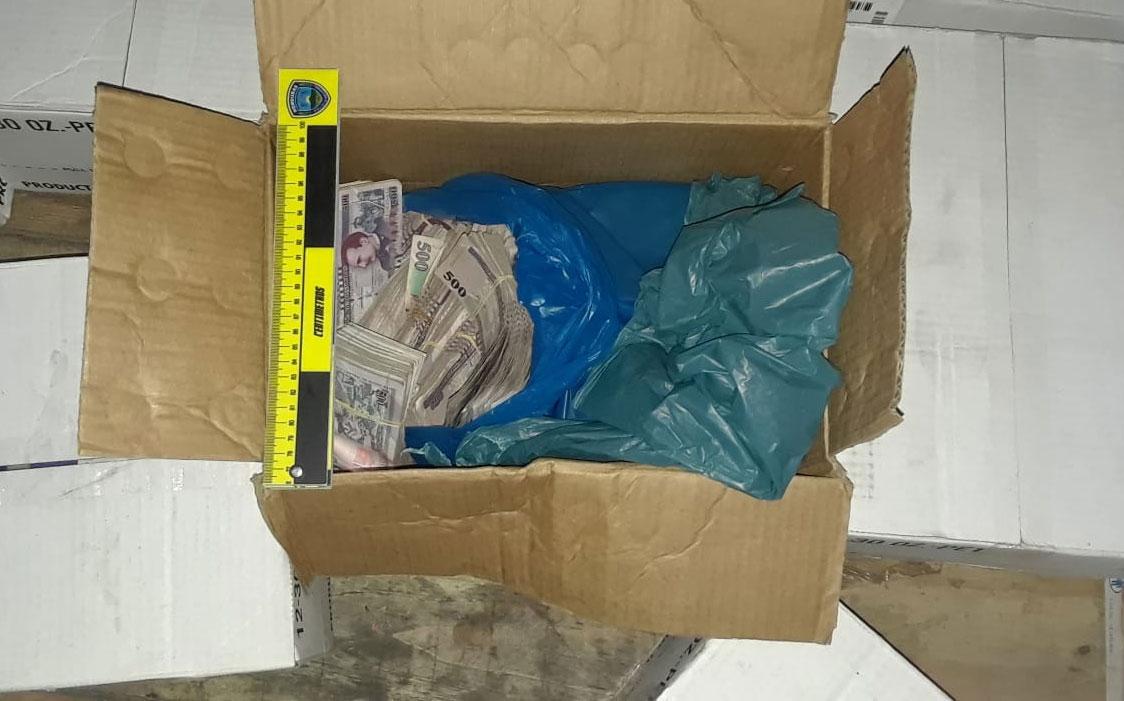 caja dinero