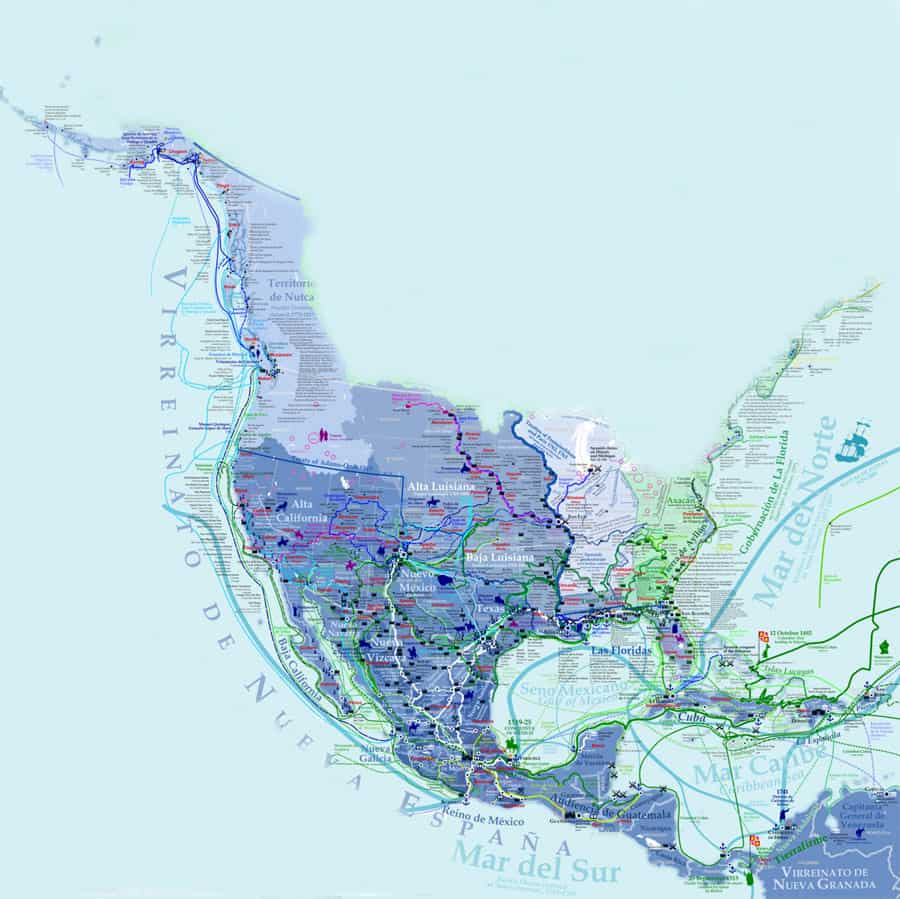 mapa virreinato