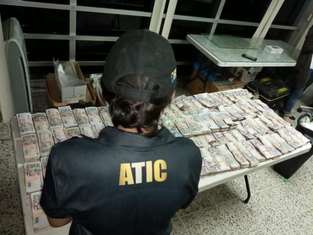 Atic Dinero Incauta