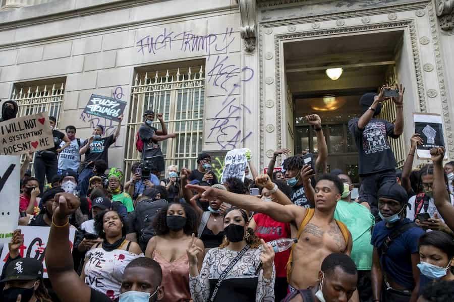 protestas en usa