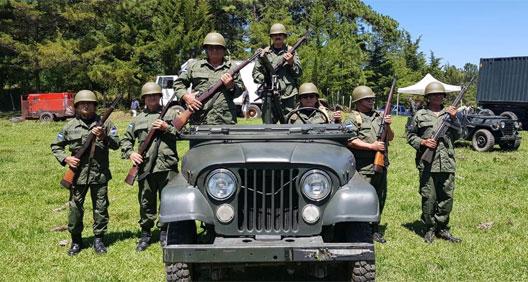 Jeep artillado