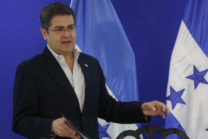 Presidente Hernández destaca labor de las fuerzas del orden en asestar duros golpes al narcotráfico