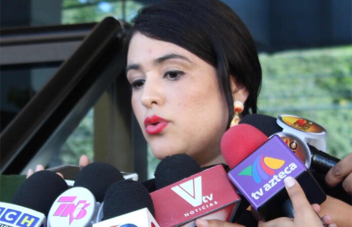 viceministra de Presupuesto de la Secretaría de Finanzas, Roxana Rodríguez.