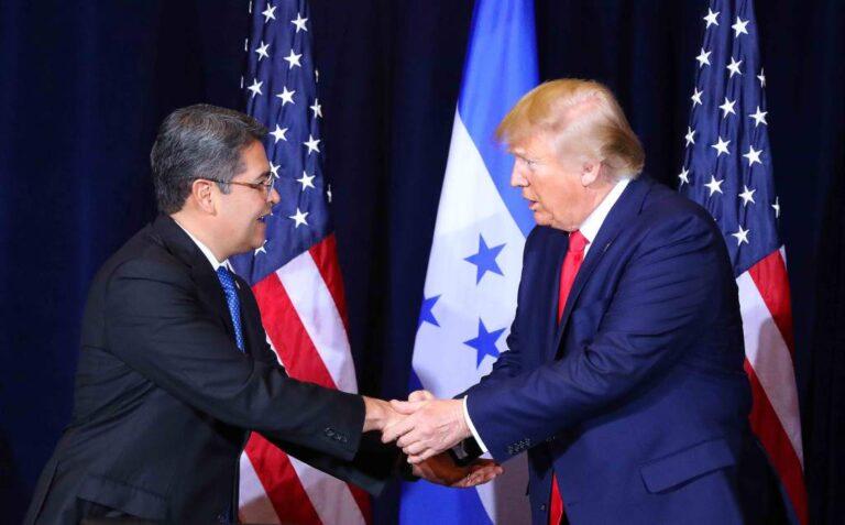Presidente Hernández desea pronta recuperación a Trump y su esposa, positivos de COVID-19