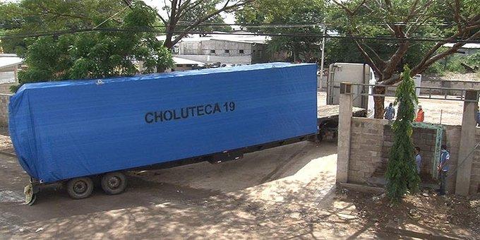 Resultado de imagen de hospital movil de choluteca