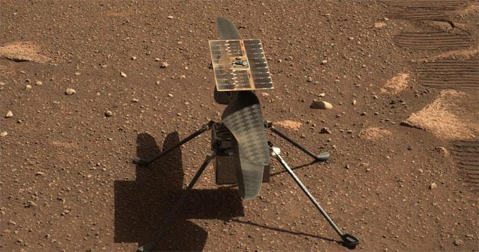 El helicóptero Ingenuity de la NASA, listo para «histórica» hazaña en Marte  | Proceso Digital