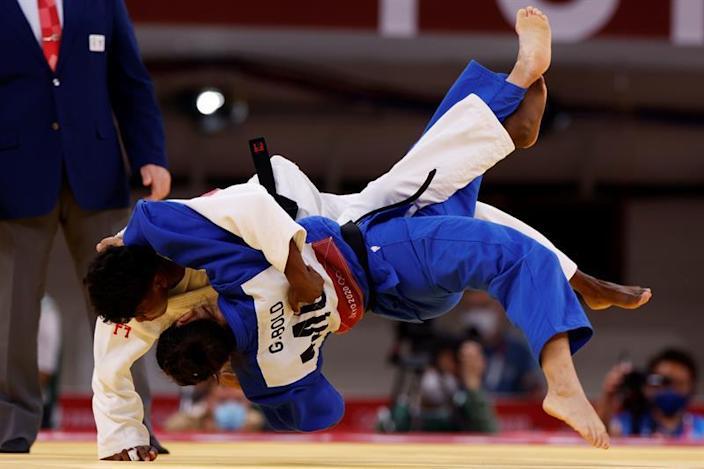 La judoca mexicana Prisca Alcaraz cayó en la primera ronda en Tokio