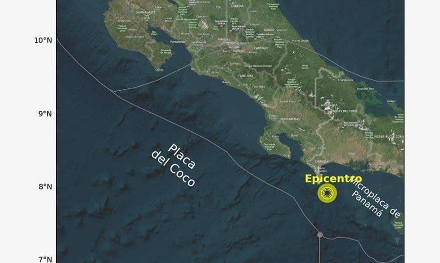Un fuerte sismo de magnitud 7 en el Pacífico sacude Costa Rica | Proceso Digital
