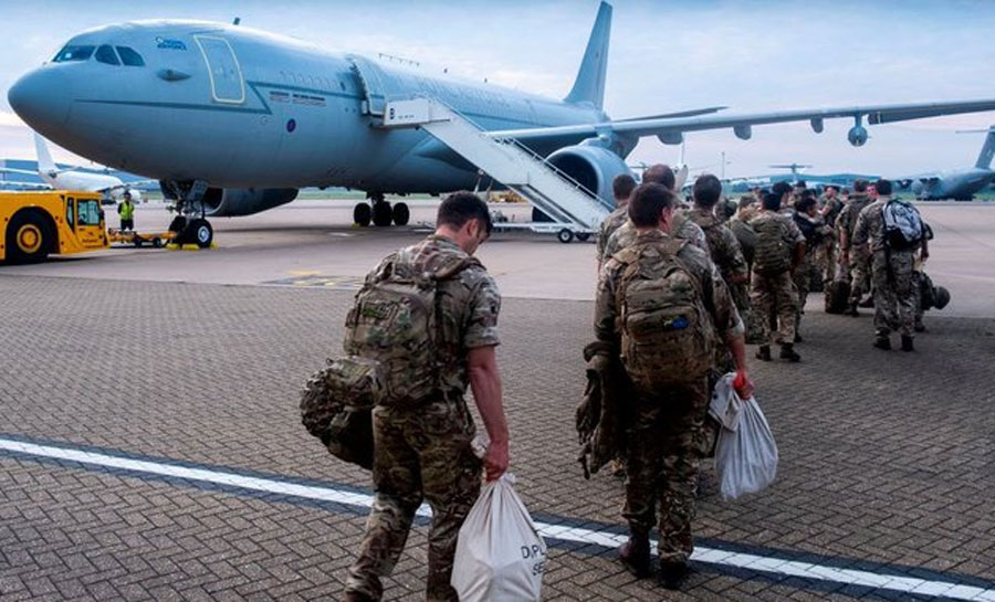 Varios países occidentales trasladan sus embajadas al aeropuerto de Kabul    Proceso Digital
